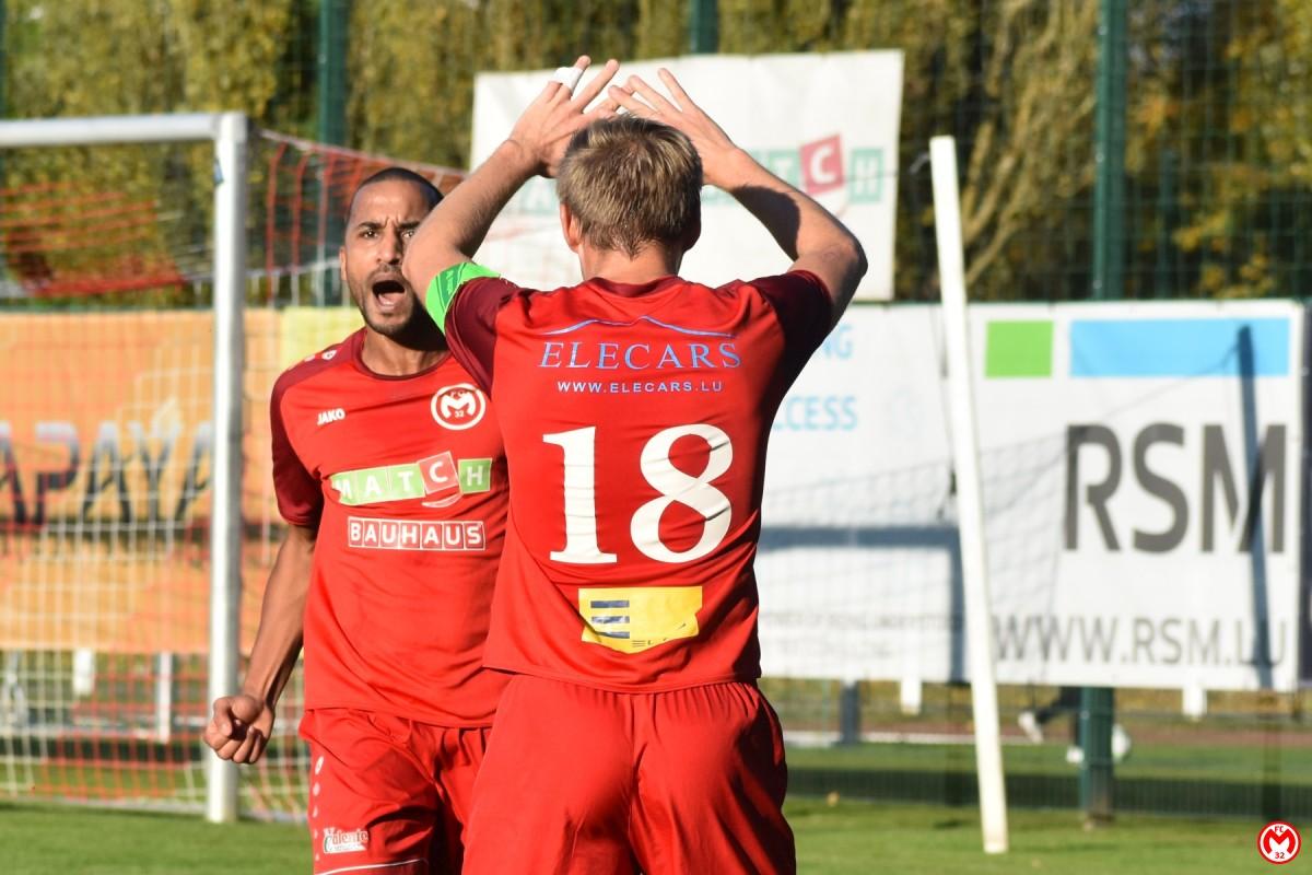 FC Mamer 32 - FC Jeunesse Junglinster 2:2