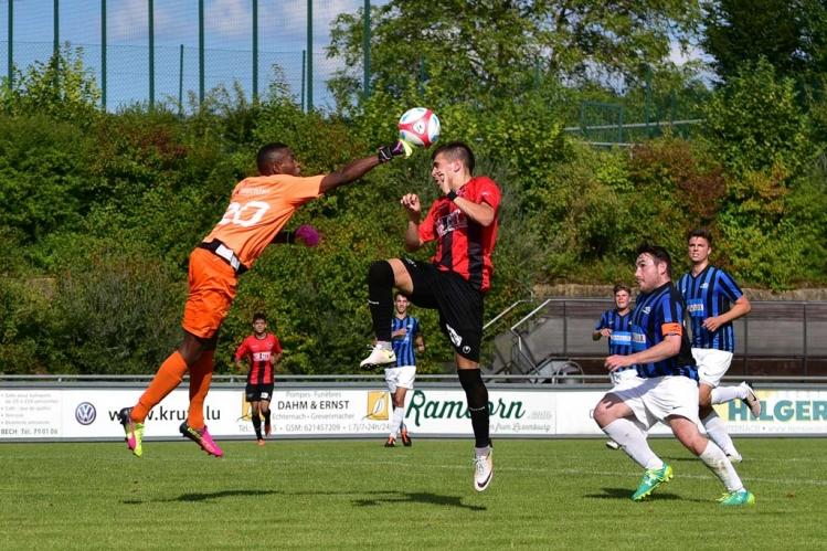 Union Mertert/Wasserbillig - FC Mondercange 0:2