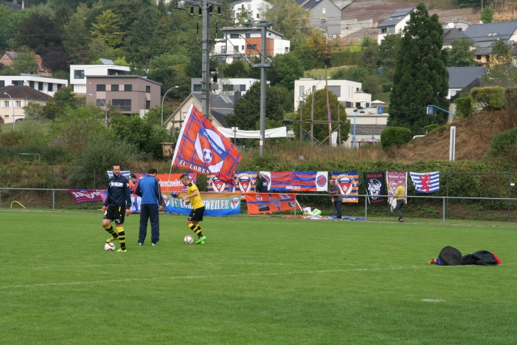 FCL-Bissen: 1/32 Finale Coupe de Luxembourg 18.09.2016