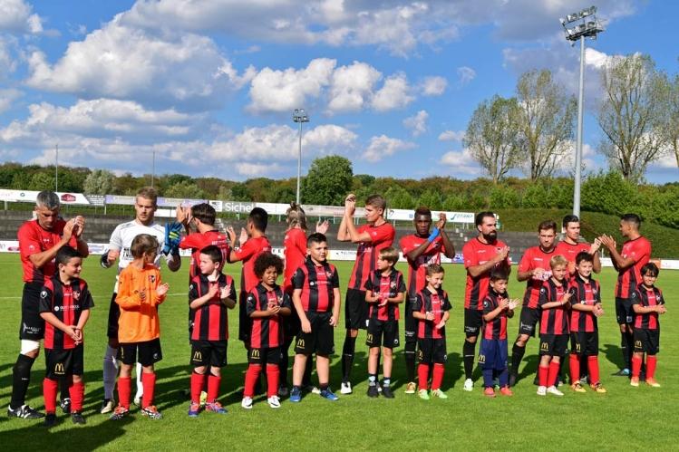 FC Mondercange - Union Mertert-Wasserbillig 1:1
