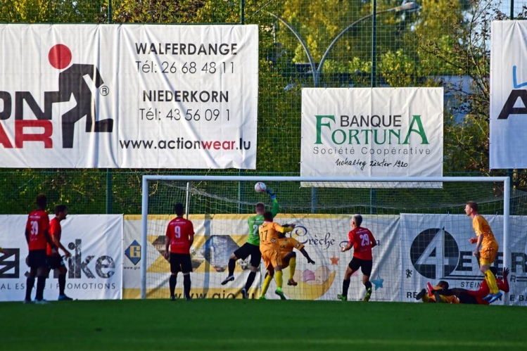 Avenir Beggen - FC Mondercange 0:2