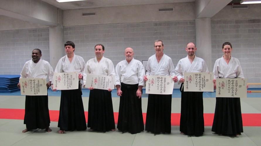 Remise des diplômes Aikikai