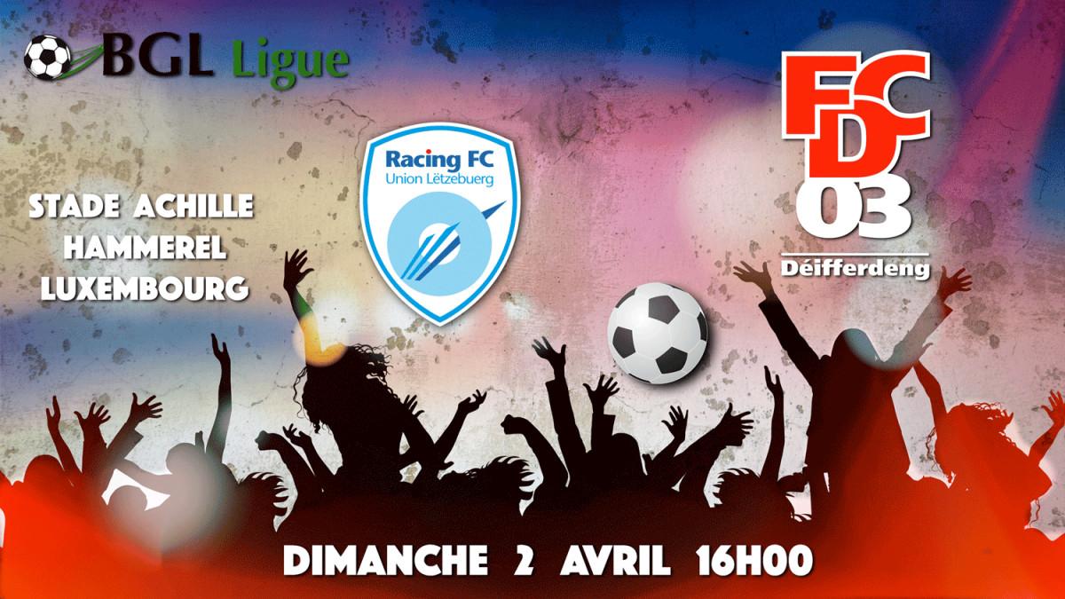 RACING FC - FCD 03  0-2