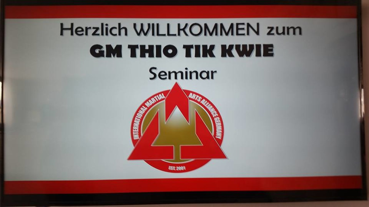 Seminar with GM TIO TEK KWIE