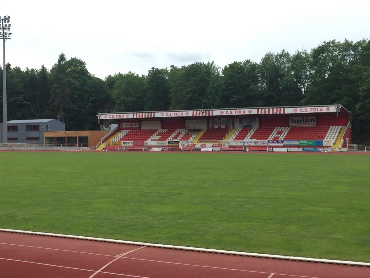 Stade Emile Mayrisch: Euro League look