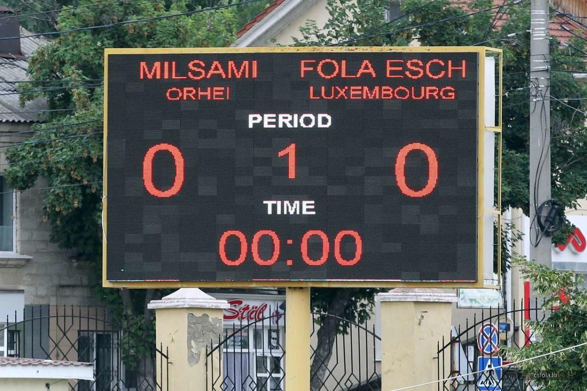 Fola went Orheim: qualidication Euro League