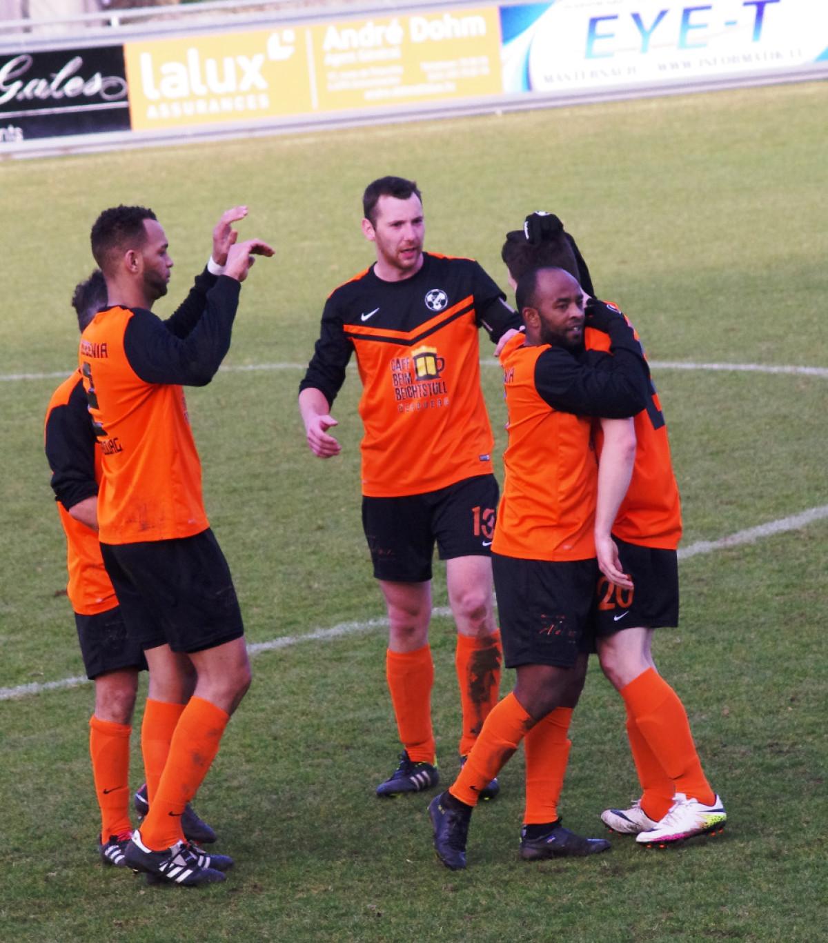 Berbourg - Junglinster Saison 2016/2017