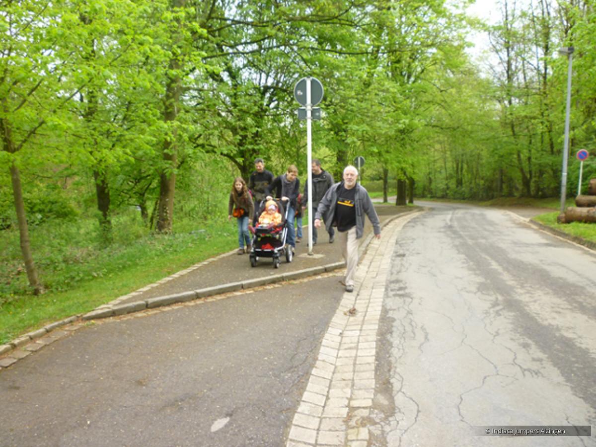Treppeltour zu Esch den 1.5.2012