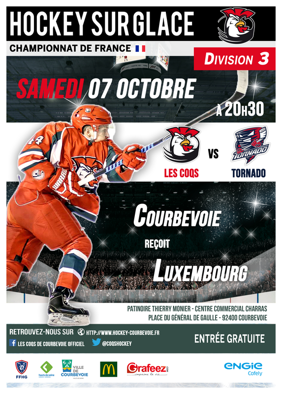 Game preview - Courbevoie (Away game)