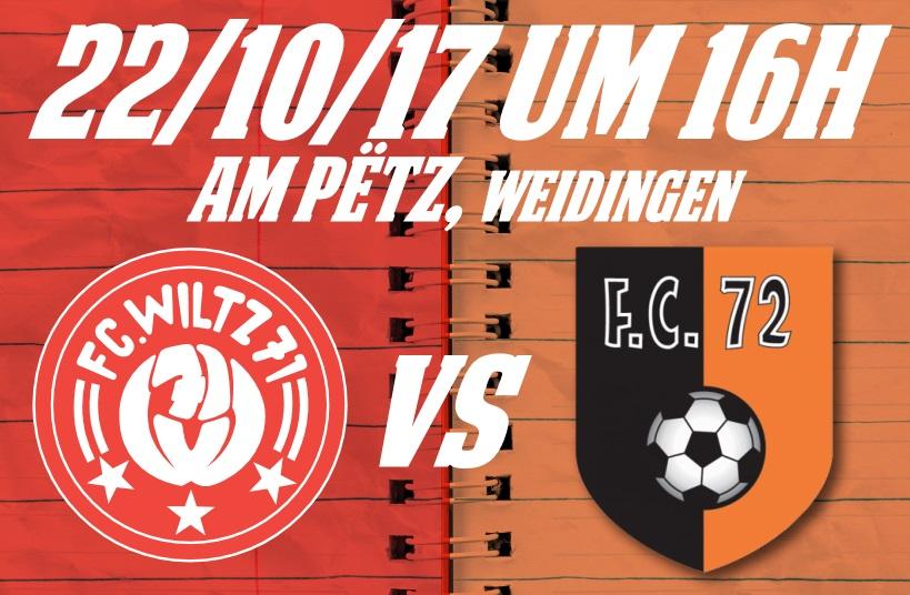 FC Wooltz 71 - FC72 ERPELDANG