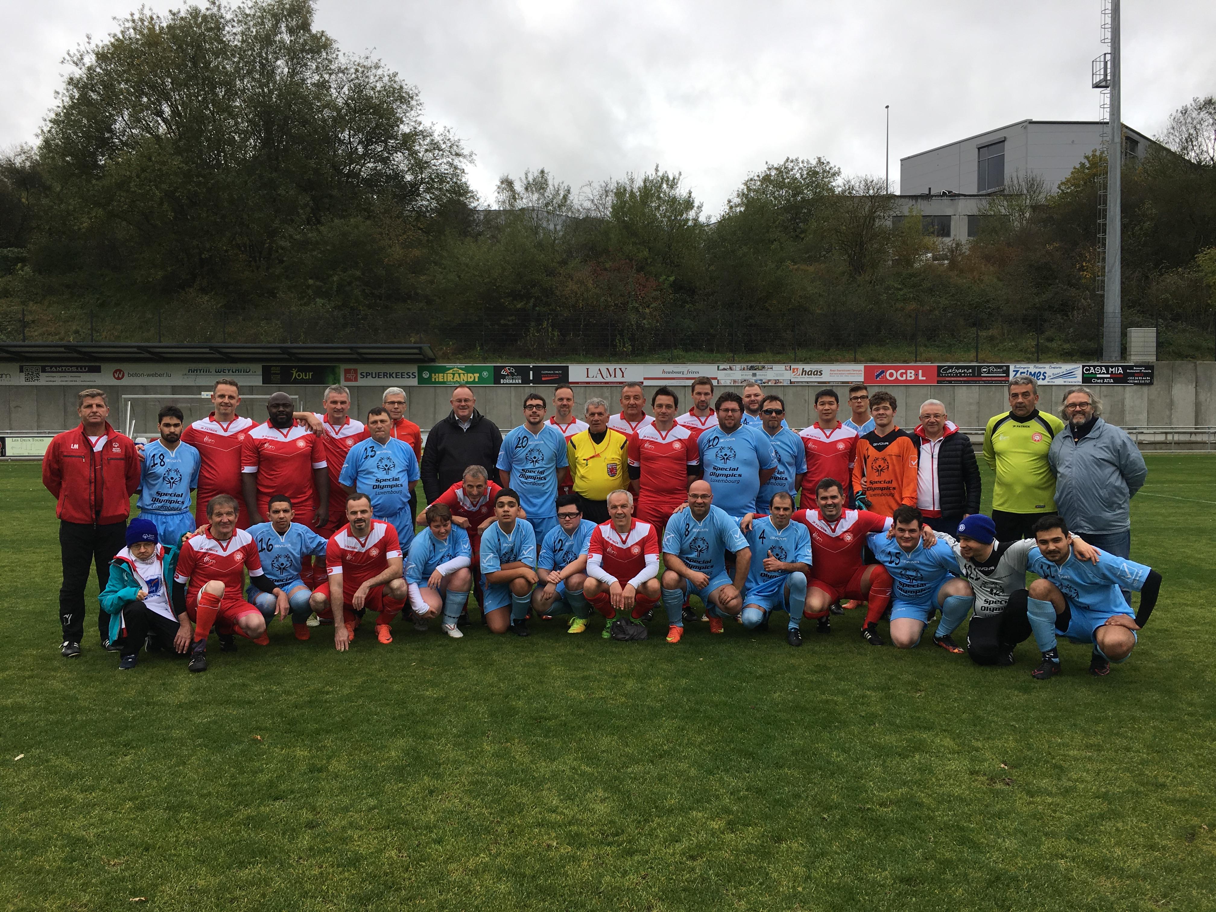 Special Olympics Lëtzebuerg vs FC Wiltz 71 Allstars