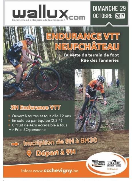 Endurance VTT Neufchâteau 29.10.2017