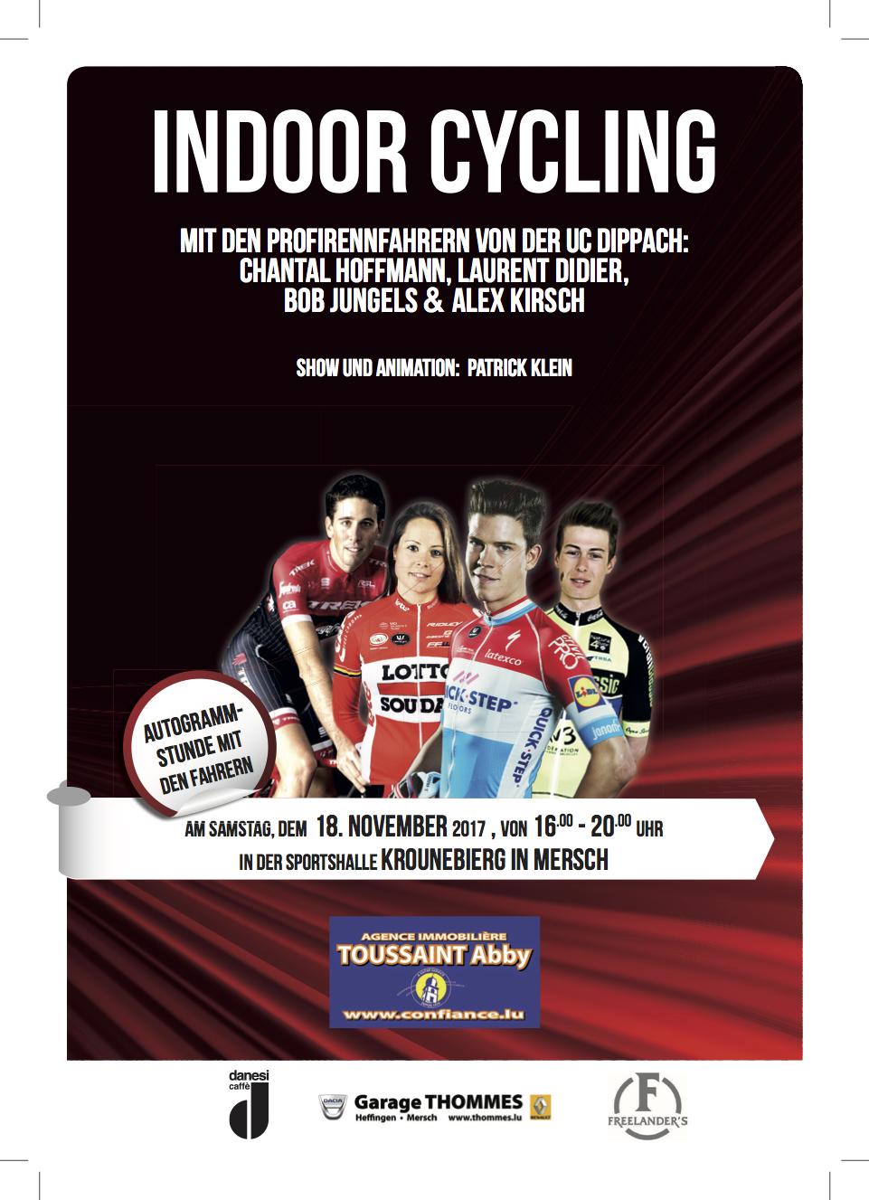 Indoor Cycling zu Miersch den 18/11/2017