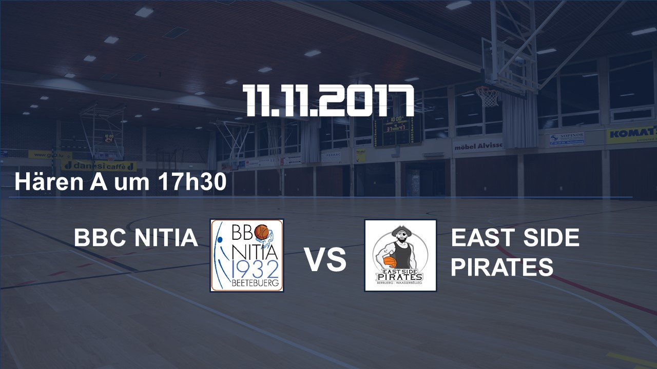 BBC Nitia Beetebuerg - East Side Pirates