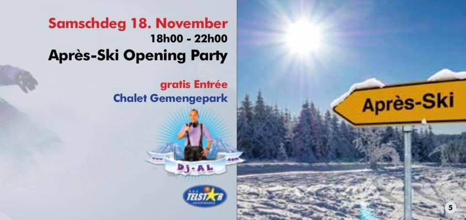 Après-Ski Opening Party mam DJ Al