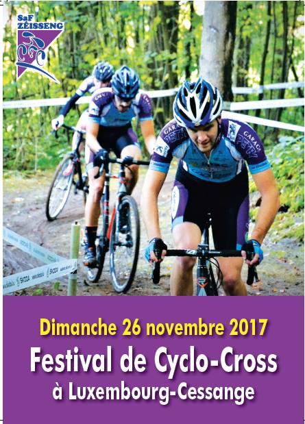 Festival Cyclo Cross et VTT SKODA Garage Serge Tewes le 26 novembre 2017