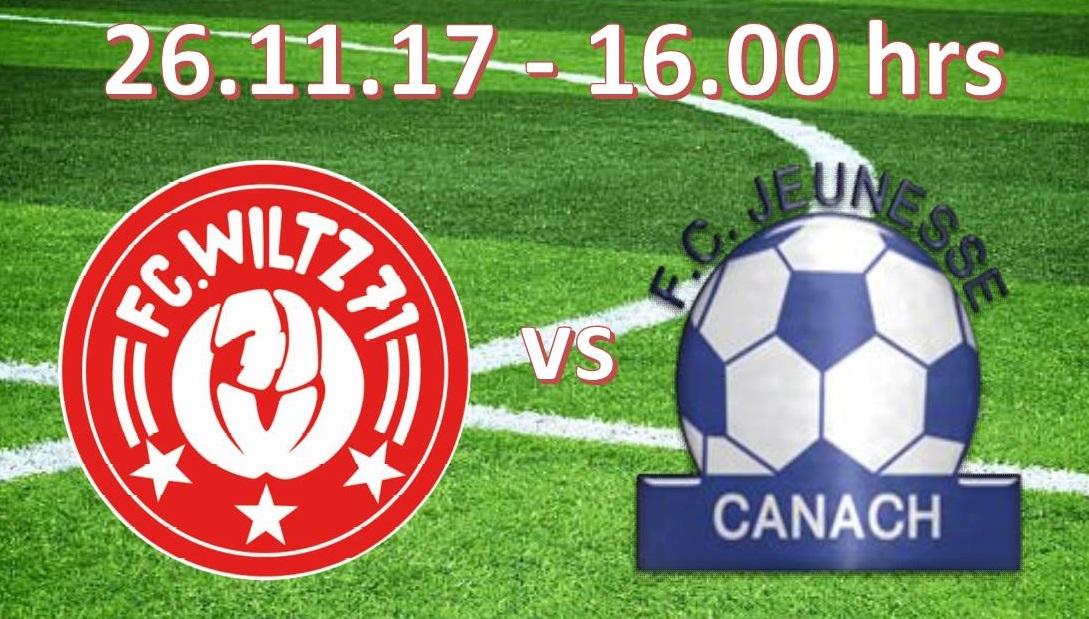 FC Wooltz 71 - FC Jeunesse Kanech