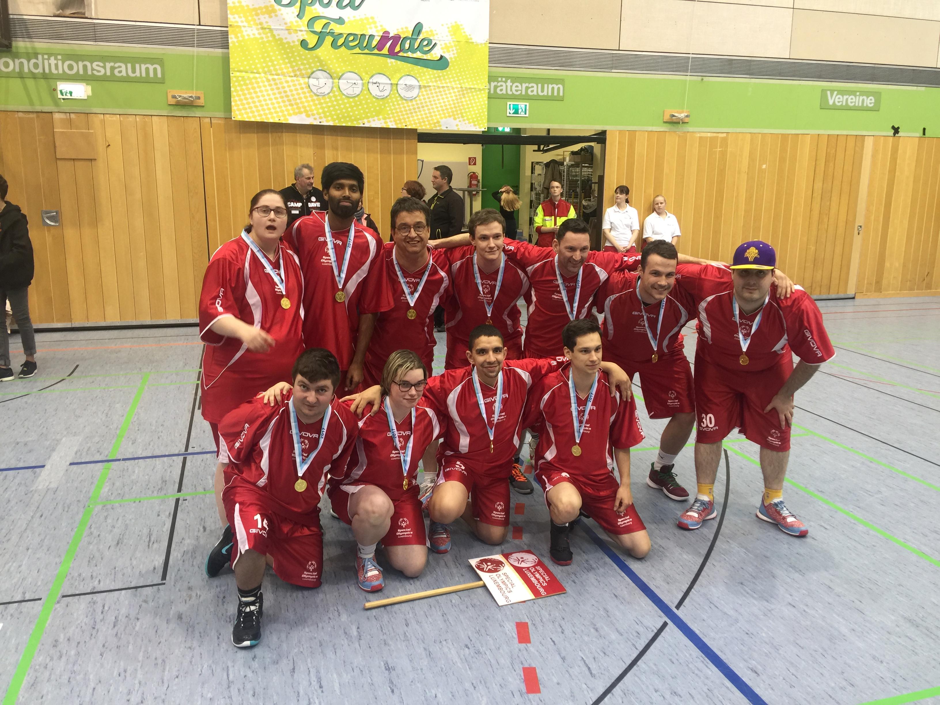 Telstarfraktioun mat Special Olympics Luxembourg zu Nürnberg!