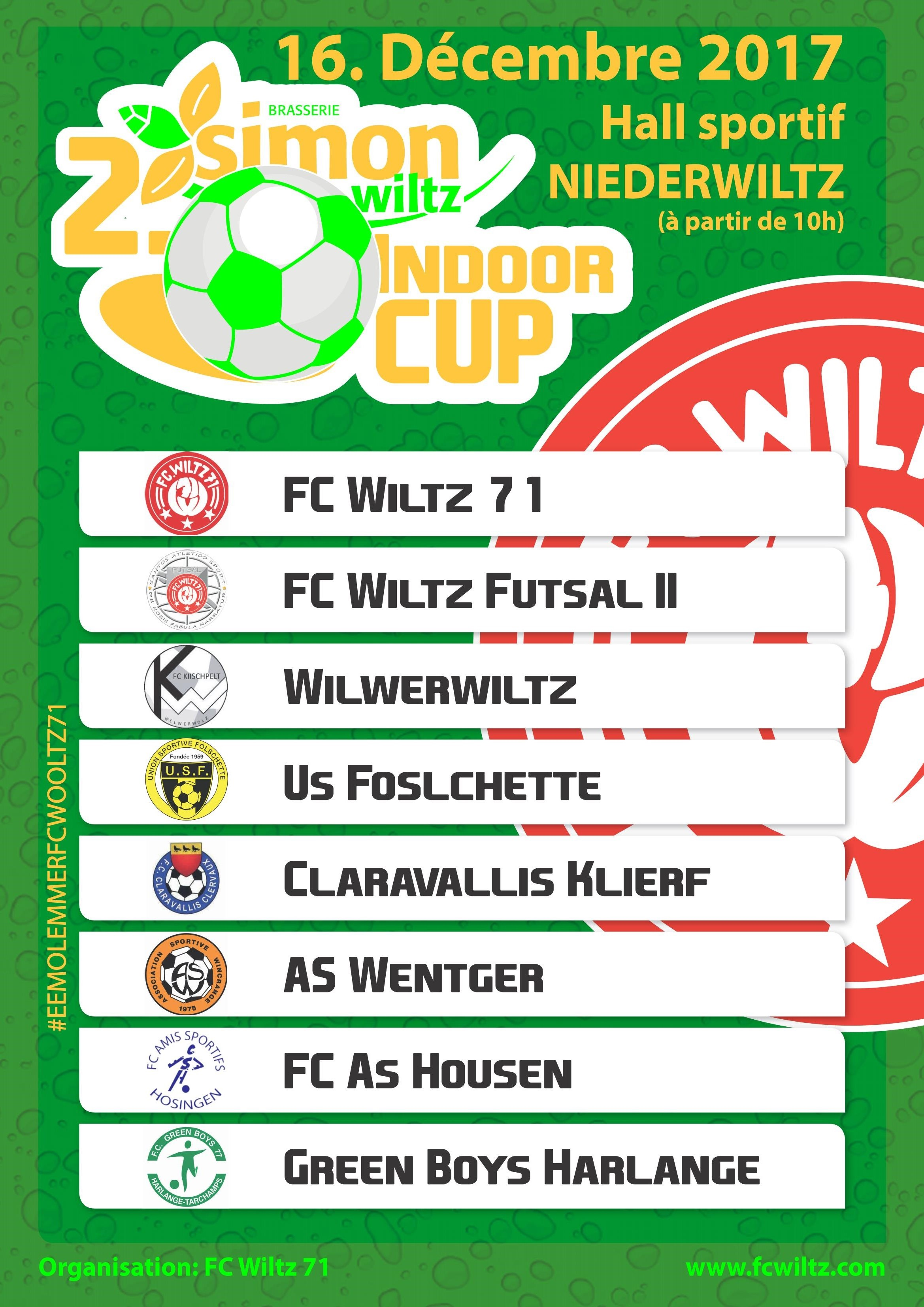 2. BRASSERIE SIMON INDOOR CUP