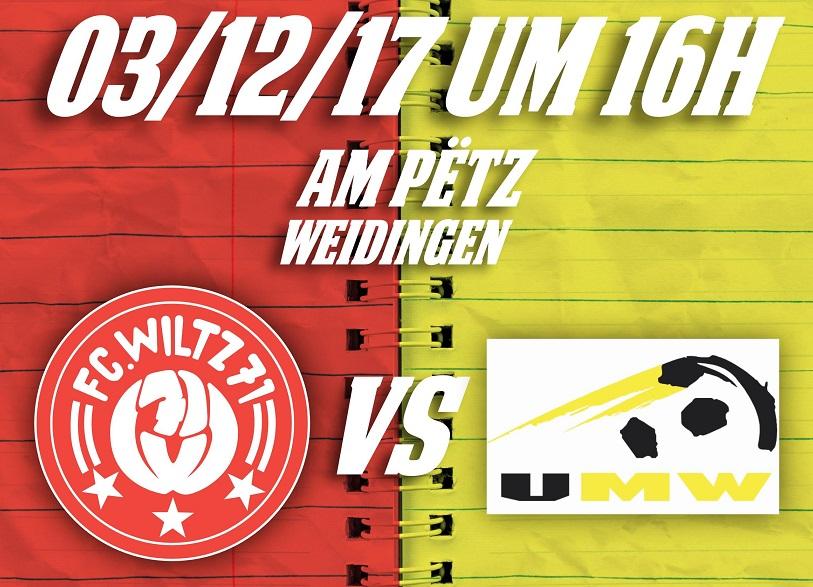 FC Wooltz 71 vs Union Mertert-Wasserbëllig