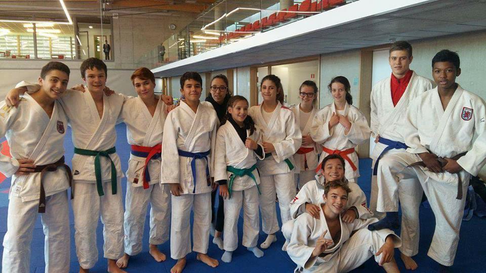Anstelle Freitag diesmal Samstag: Judo-Training in Strassen