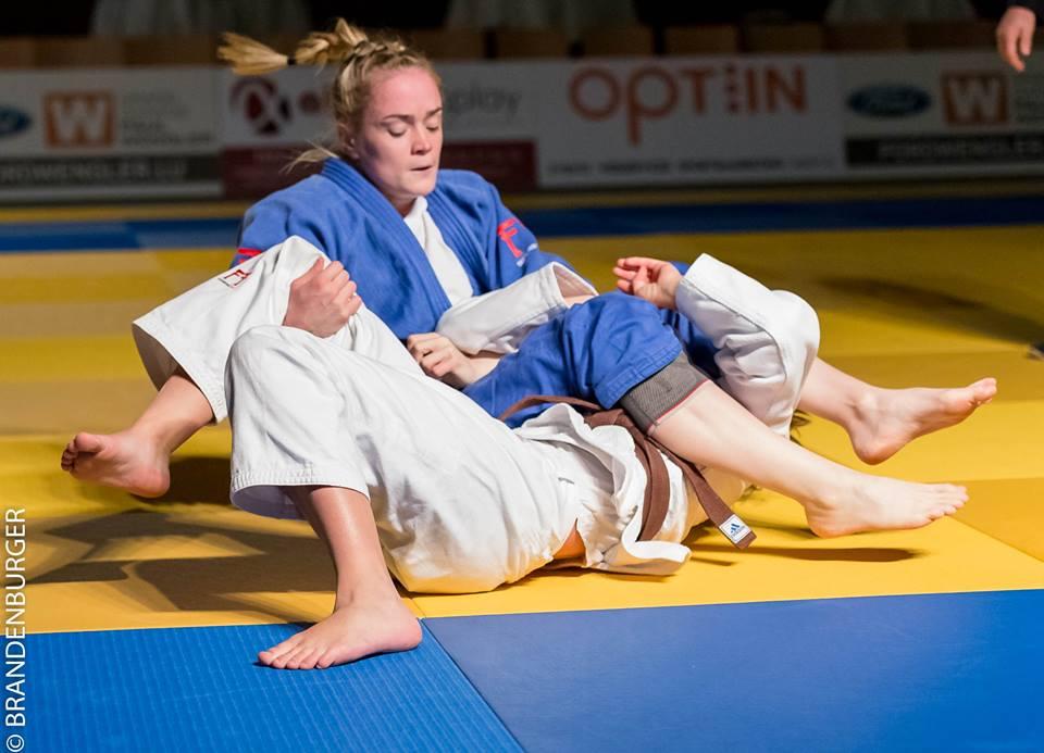Taylor King vom Judo Club Stroossen ist Nationale Meisterin -63 kg
