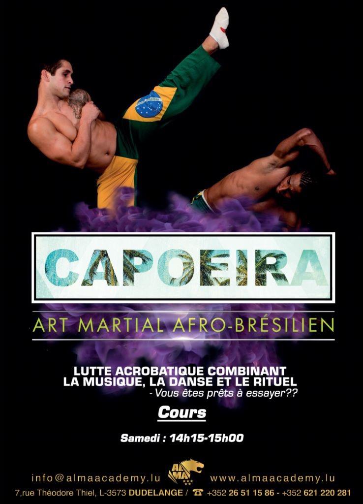 Nouveaux Cours de Capoeira et Parcours