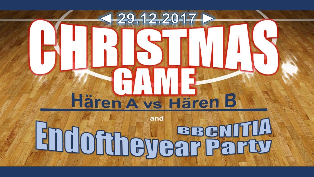 29.12 Christmas Game an Basketfeier