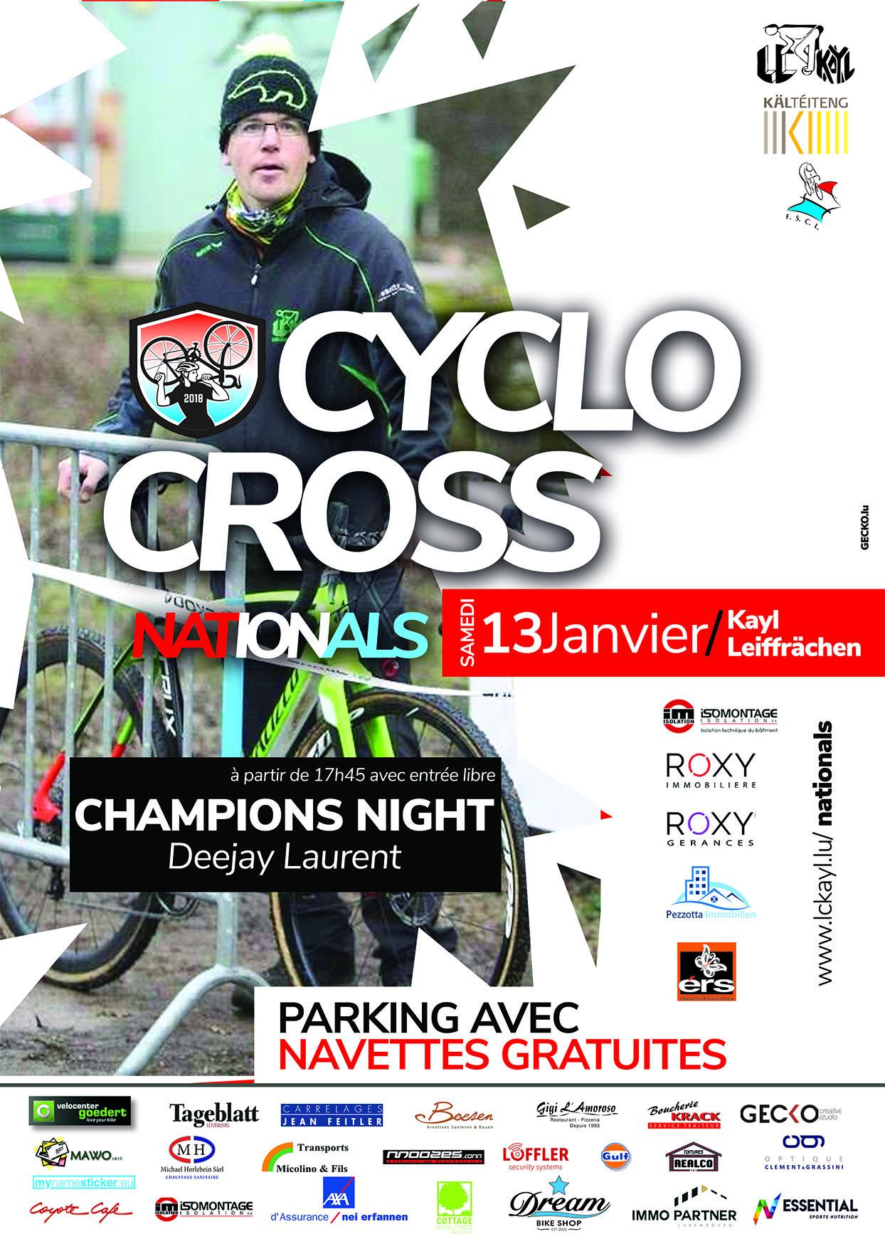 National Meeschterschaften am Cyclocross zu Kayl