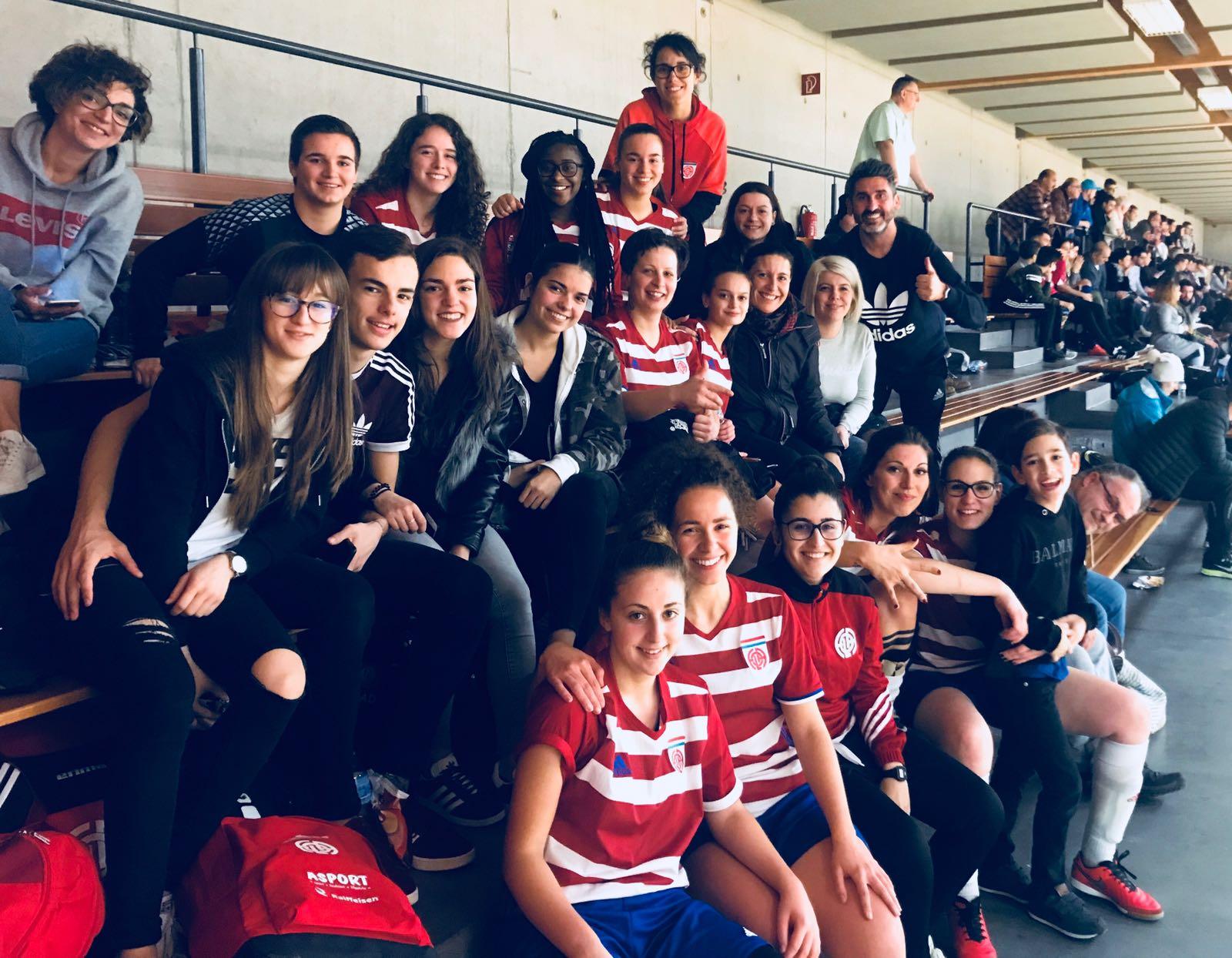 CS FOLA dames go 1/2 finale LALUX :-) Nous sommes fiers: Vianden mnt