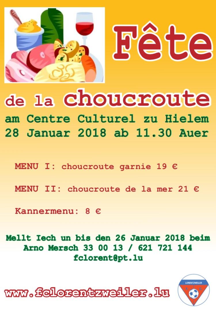 Fête de la Choucroute