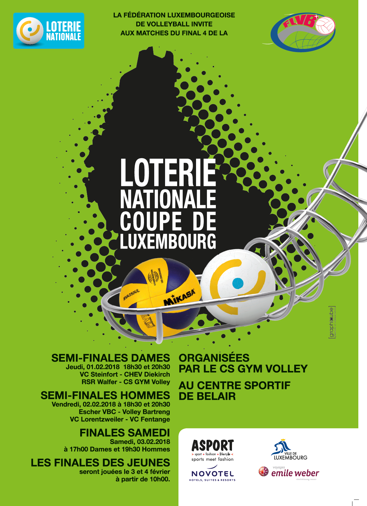 Programme Lotterie Nationale Coupe de Luxembourg