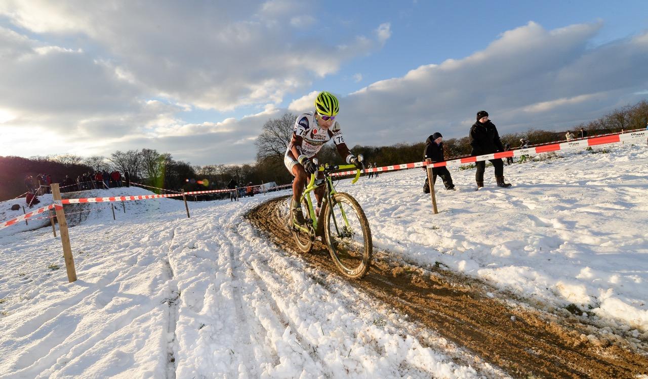 cyclo cross international à Leudelange le 21 janvier 2018