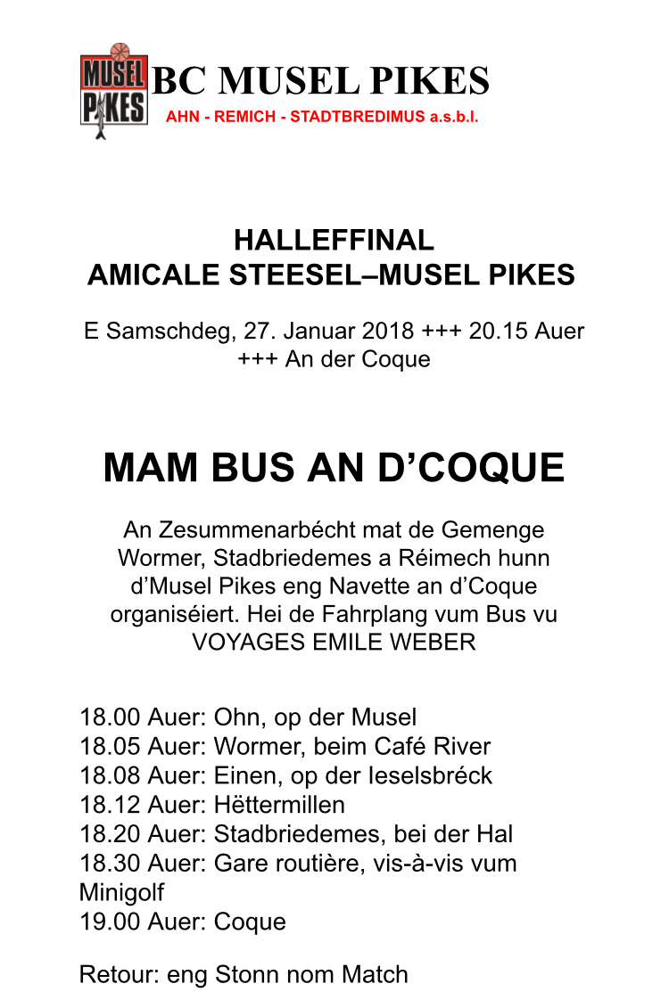 MAM BUS AN D'COQUE