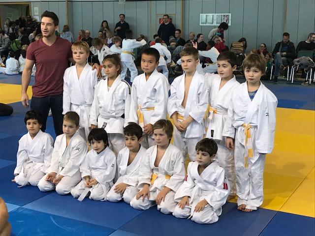 Erste Wettkampferfahrung für Strassener Judo-Kids