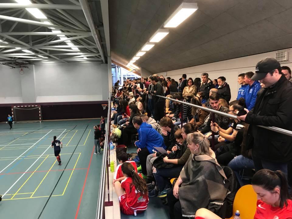 Hallewfinall am Futsal
