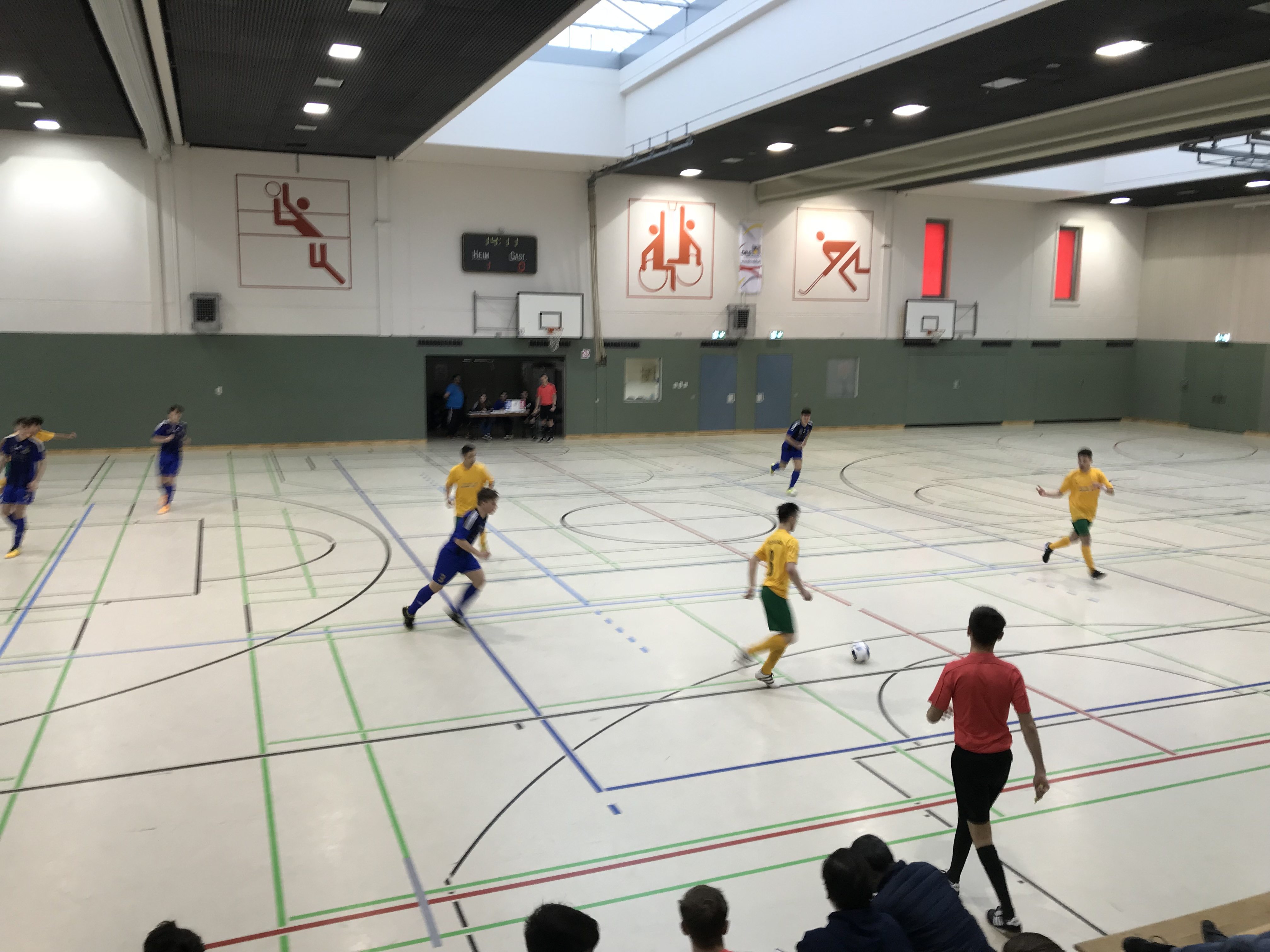 AJ Futsal-Hallenturnier in Klarenthal