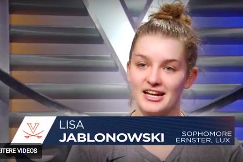 Video-Reportage iwwer d'Lisa Jablonowski