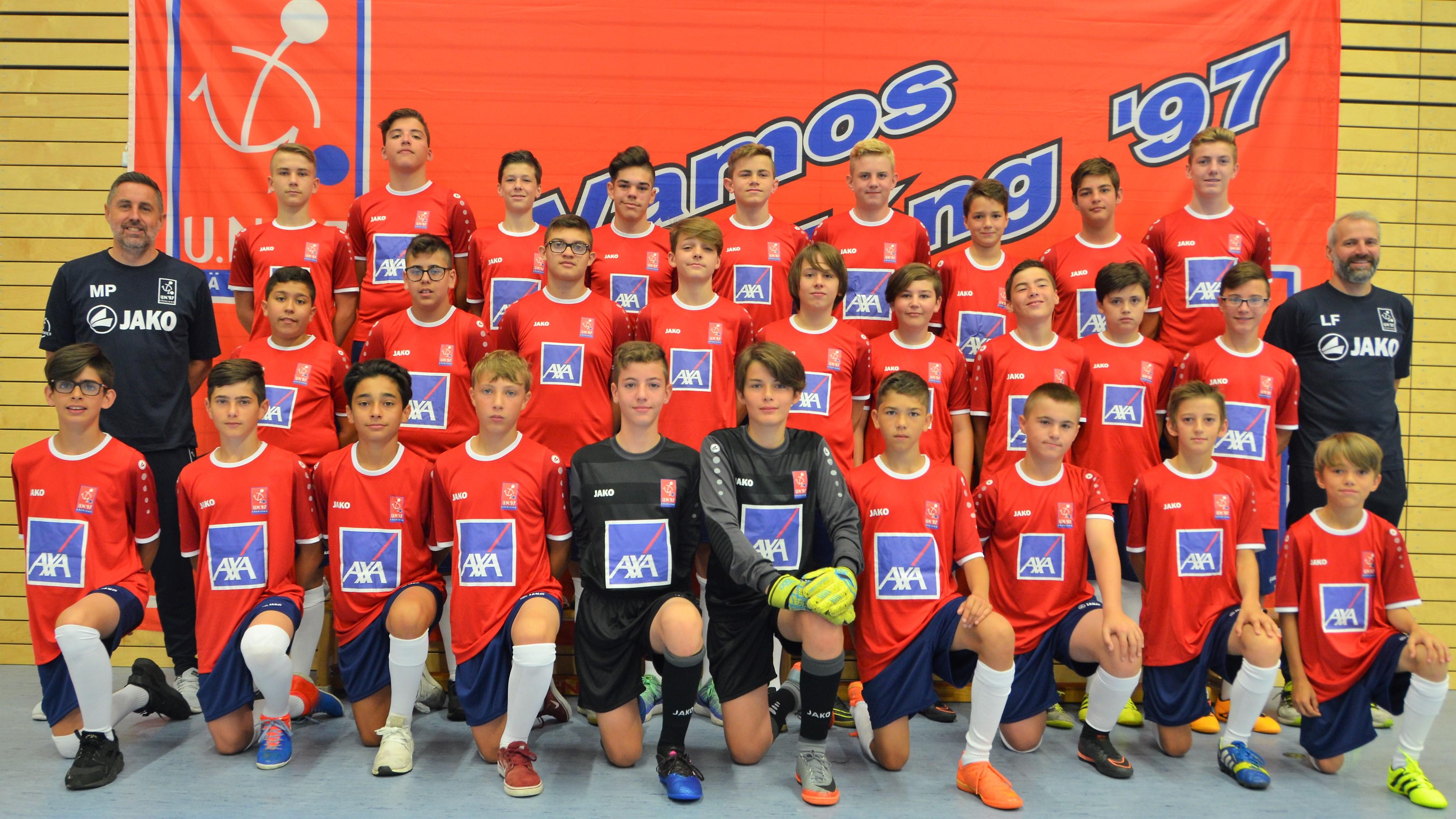 Halleffinale vum Futsal U9 um Dribbel