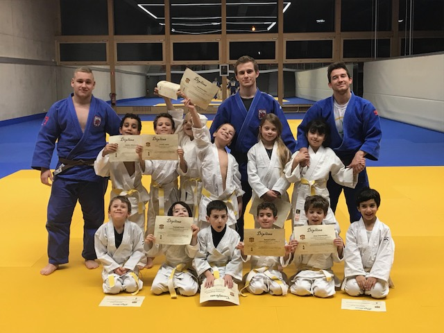 JUDO CLUB Stroossen:   Gürtelprüfung / Belt exam / Passages de grade