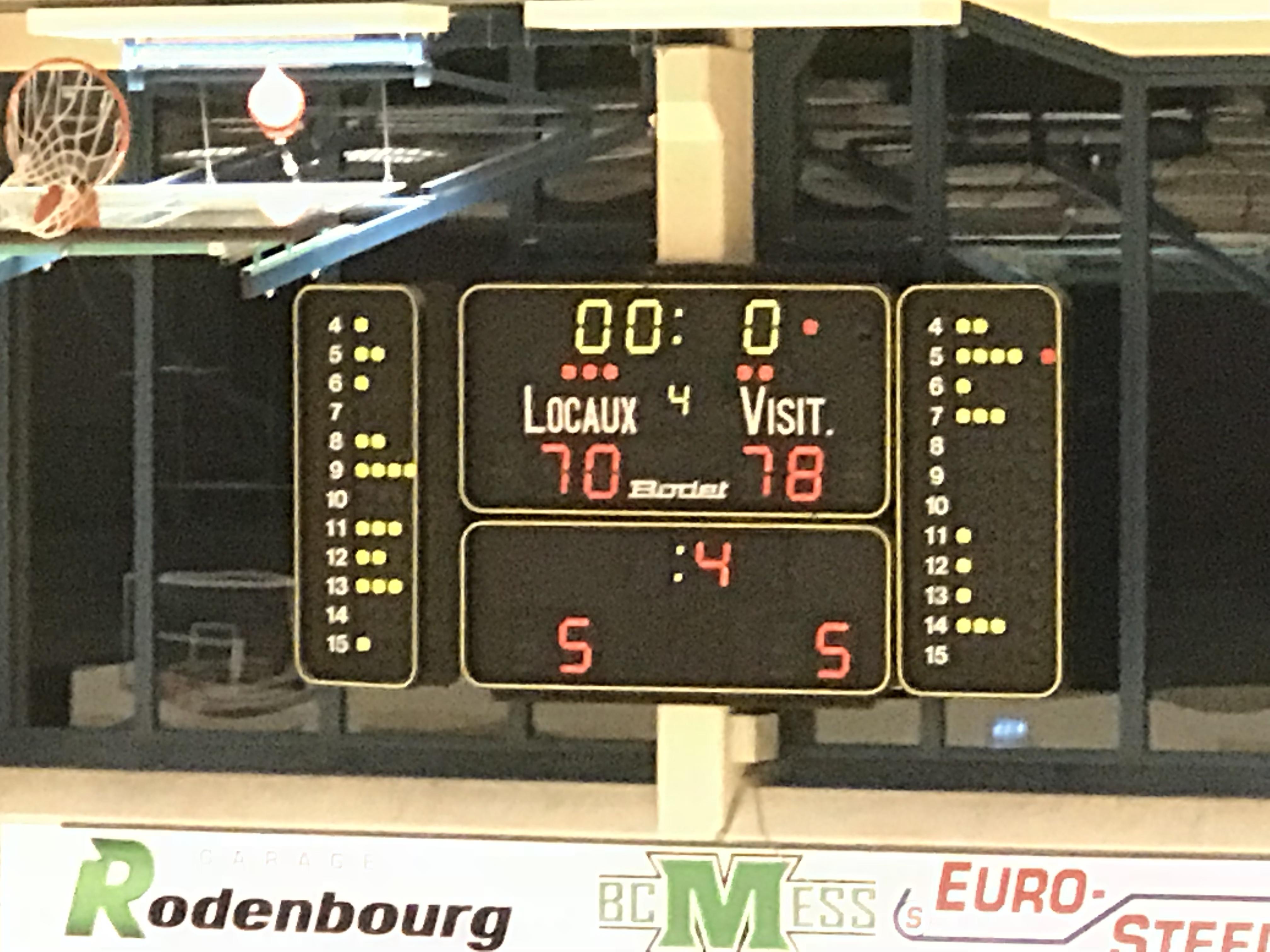 Basket: Resultater um Samsdeg Owend