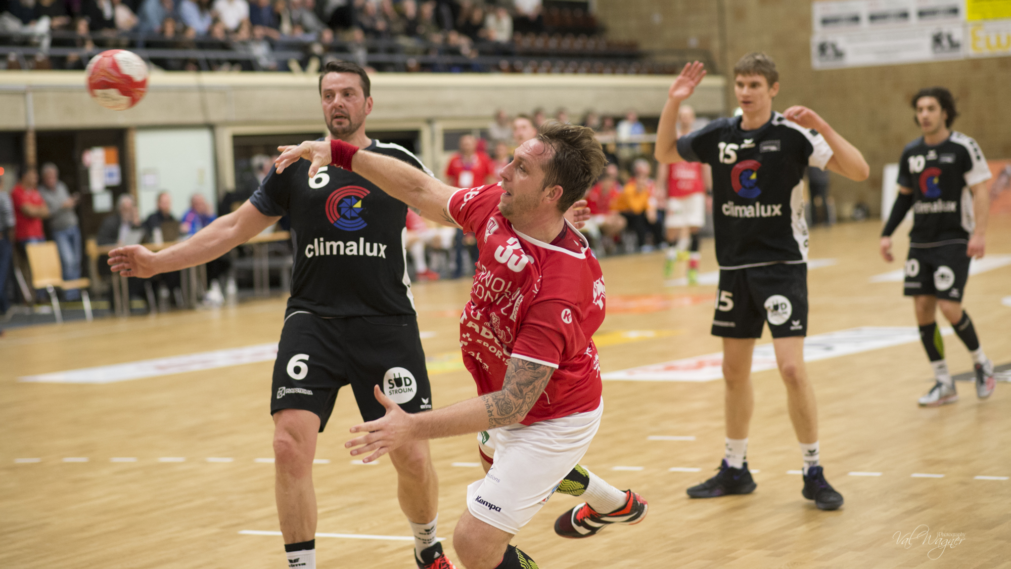 D'Red Boys klappen Esch 31:24