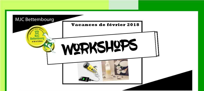 Workshops Février - Power Bank & Produits naturels