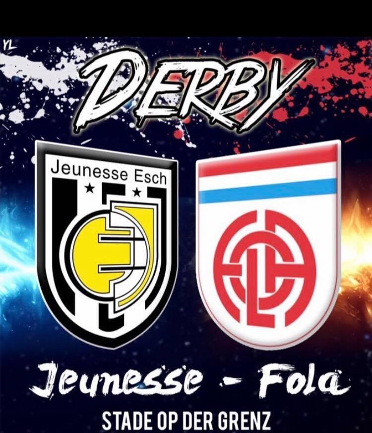 Derby: Jeunesse - CS FOLA 4e essai le 18/02/2018 16hrs au stade de la frontière