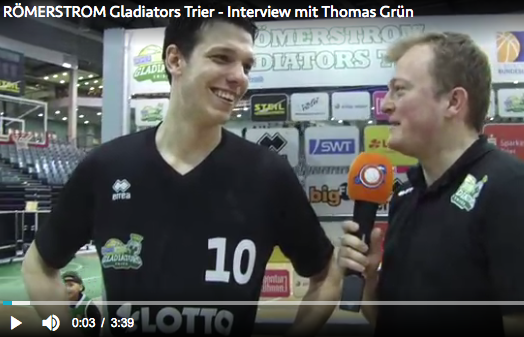 Interview mam Thomas Grün vum Veräin nom Mätch