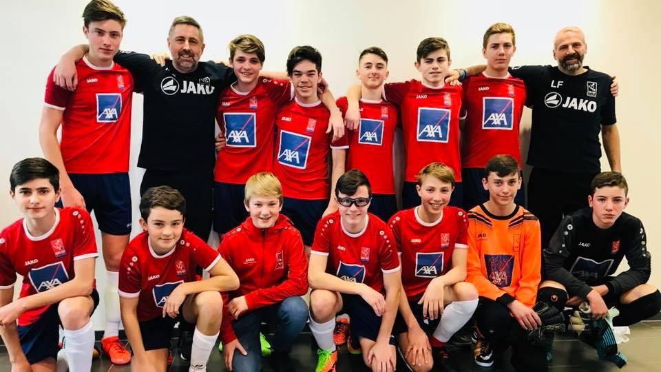 Eis Scolaires an der Finale vum Futsal 2018
