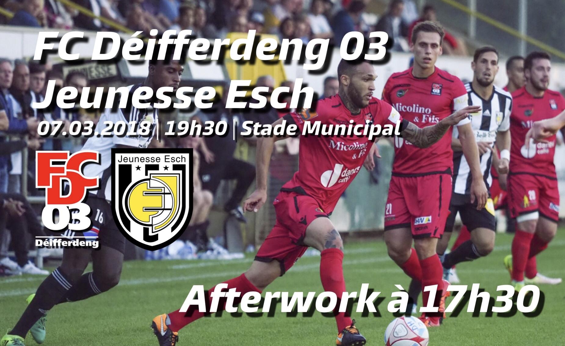 FC Déifferdeng 03 - Jeunesse Esch avec Afterwork