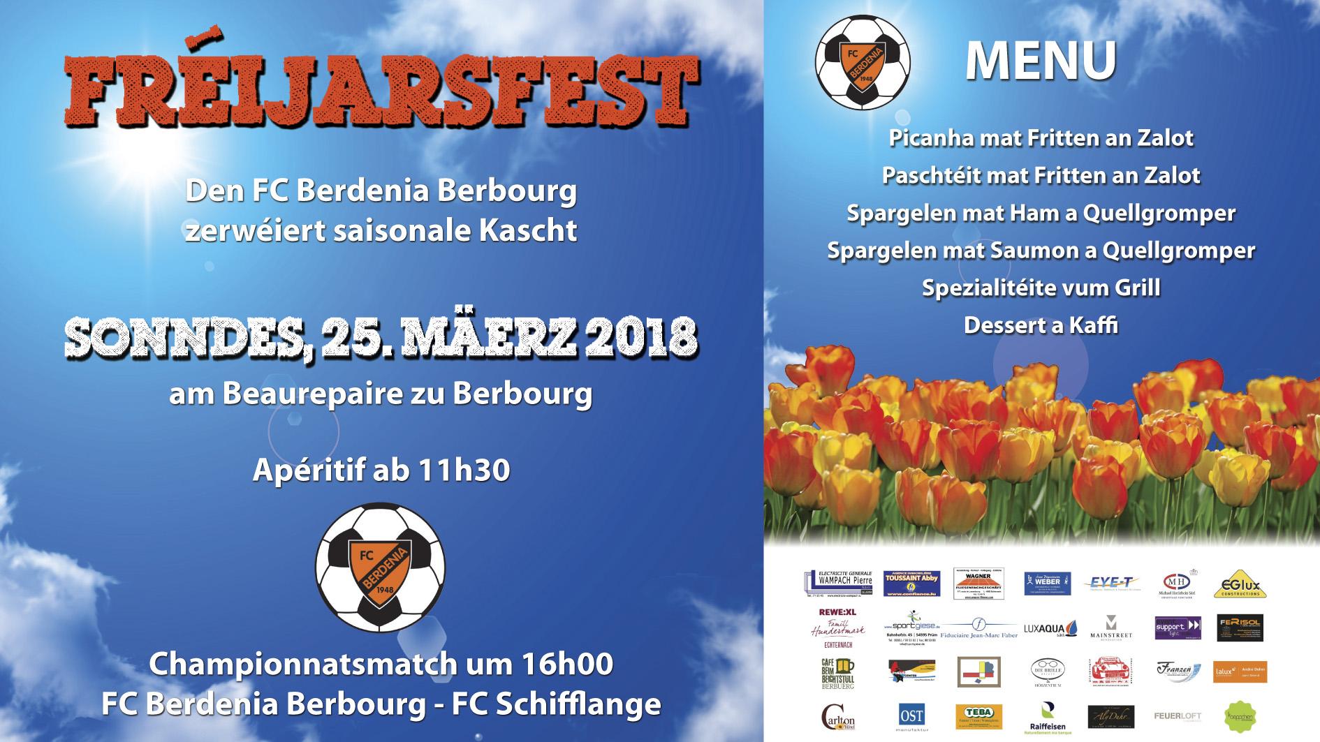 Fréijarsfest 2018