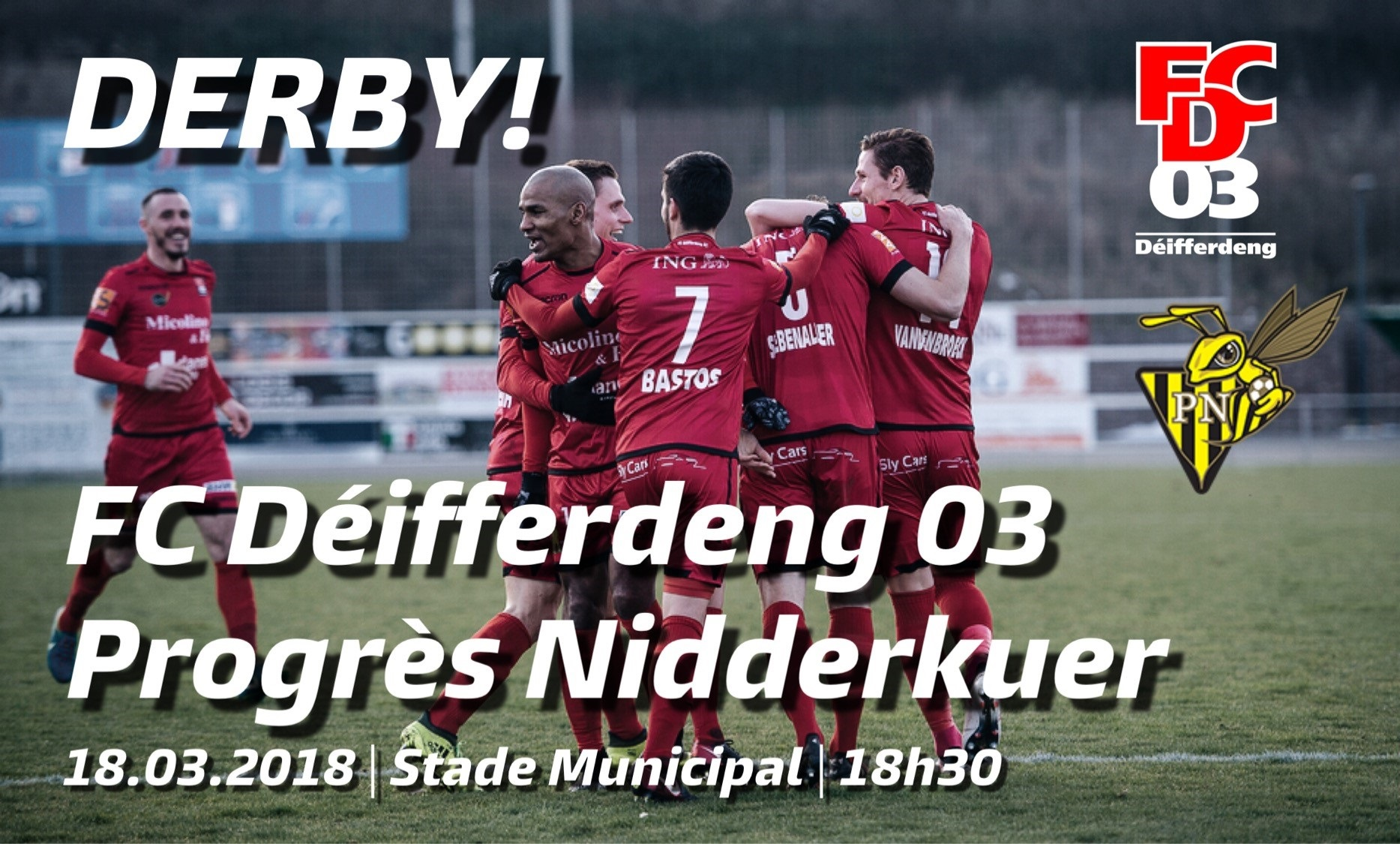 DERBY   FCD03 - PN