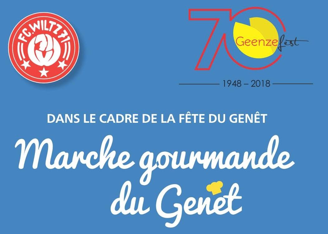 19.05.2018 - Marche gourmande du Genêt